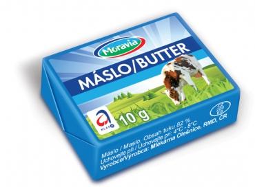 Máslo Moravia - alu. folie