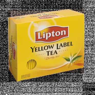 Černý čaj Lipton yellow label gastro přebal