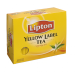 Black tea Lipton yellow label gastro cover