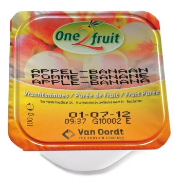 Ovocná přesnídávka Jablko - Banán