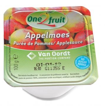 Jablečné pyré bez přidaného cukru