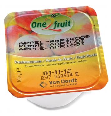 Ovocná přesnídávka Jablko - Meruňka