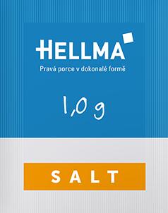 Hellma sůl porce