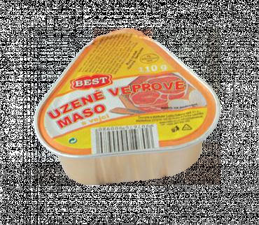 Uzené vepřové maso s vejci