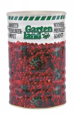 Gartenland brusinky kompot 5kg